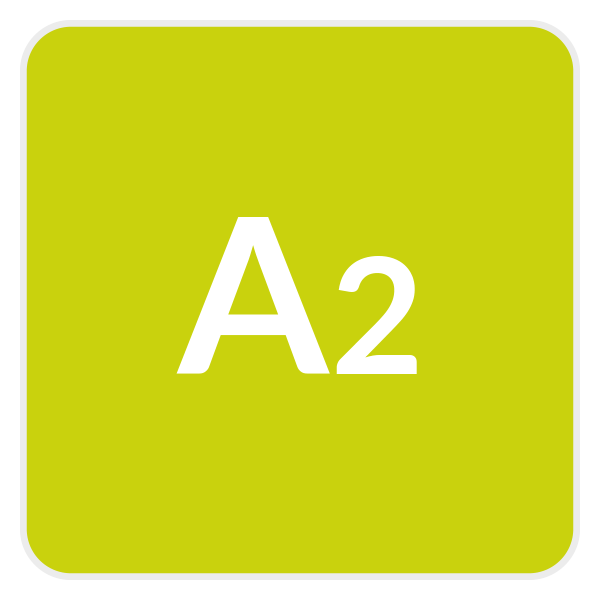 learn spanish online - Boton Nivel A2